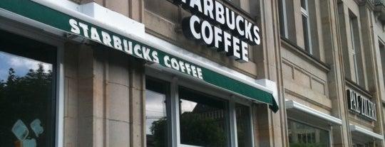 Starbucks is one of Mein Deutschland.