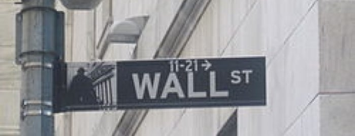 Wall Street is one of Pete NYC.