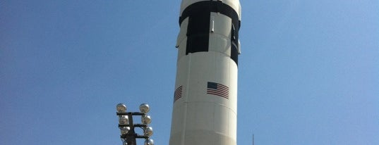 U.S. Space and Rocket Center is one of Huntsville Alabama.