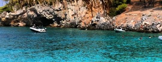 Απόνησος is one of Beaches in Agistri.