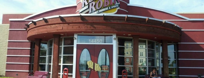 Red Robin Gourmet Burgers is one of 2012-02-08.