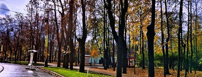 Sokolniki Park is one of Лучшие парки Мск.