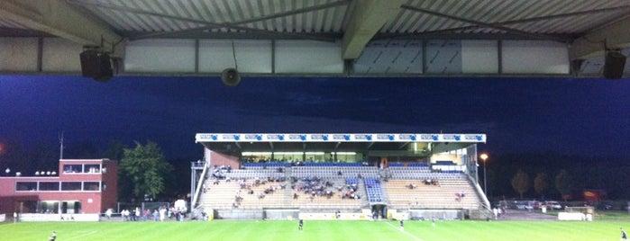 Stadion De Leunen is one of Jupiler Pro League and Belgacom League - 2013-2014.