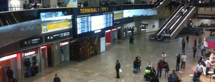 São Paulo / Guarulhos International Airport (GRU) is one of Aeroporto de Guarulhos (GRU Airport).