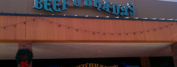 Beef 'O' Brady's is one of Must-visit Food in Tampa.