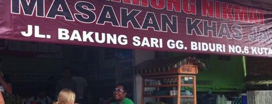 """Warung Makan Nikmat is one of Bali """"Jaan"""" Culinary."""