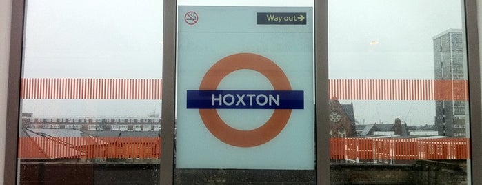 Hoxton London Overground Station is one of Railway Stations in UK.