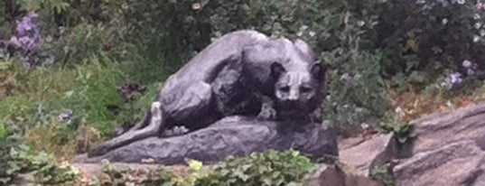 Central Park - Cat Hill - Still Hunt By Edward Kemeys is one of Park Highlights of NYC.