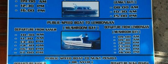 Optasal Office - Public Boat to Lembongan Island is one of Transfer to Lembongan Island.