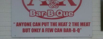 A&R Barbeque is one of Chow!.