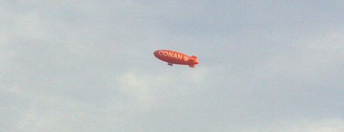 The Conan Blimp 2011 is one of I spy with my 4sq eye.