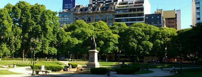 Plaza Libertad is one of In and Around Buenos Aires.