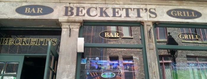 Beckett's Bar & Grill is one of Bars in New York City to Watch NFL SUNDAY TICKET™.
