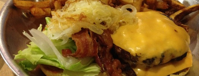 AJ's Burgers is one of Westchester Cheap Eats.