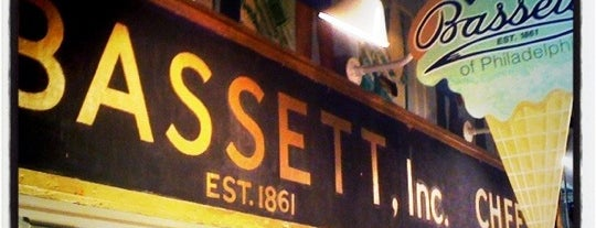 Bassett's Ice Cream is one of live to eat..