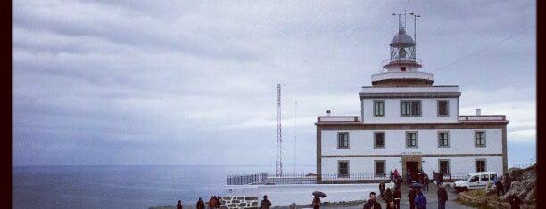 Faro de Fisterra is one of Camino de Santiago.