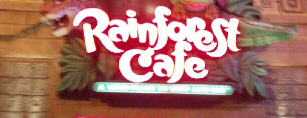 Rainforest Cafe is one of Things To Do In NJ.