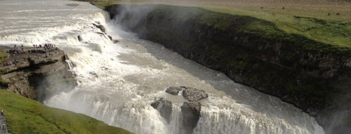 Gullfoss is one of Iceland Grand Tour.
