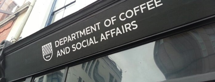 Department of Coffee and Social Affairs is one of Shoreditch Coffees.
