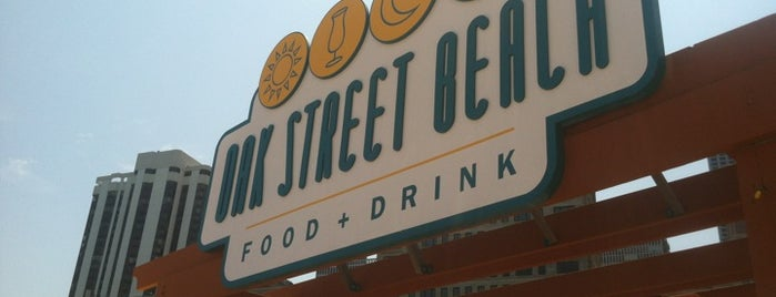 Oak Street Beach Food + Drink is one of 100 Best Places in Chicago: TOC Staff Picks.