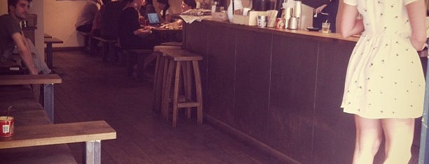 TAP Coffee is one of London Coffee Crawl.