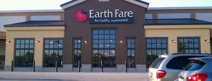 Earth Fare is one of frequented.
