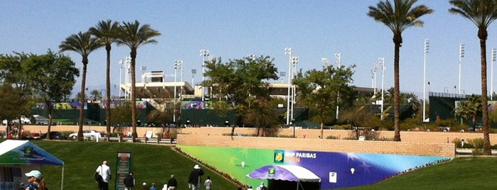 Indian Wells Tennis Garden is one of Sports Arena's.