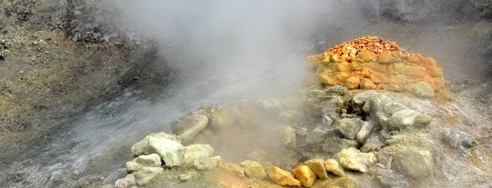 Vulcano Solfatara is one of Napoli.