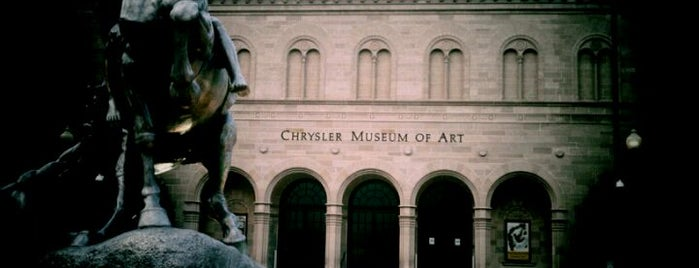Chrysler Museum of Art is one of Must-visit Arts & Entertainment in Virginia Beach.