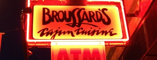Broussard's Cajun Cuisine is one of Recommended Sandwich.