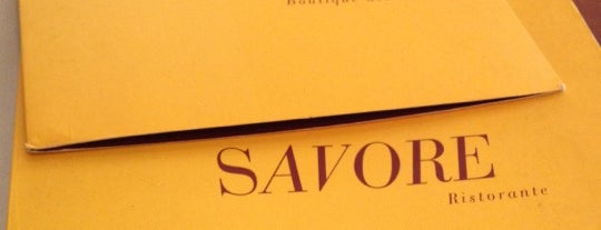 Savore is one of test.