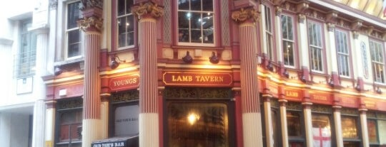The Lamb Tavern is one of Great London Pubs.