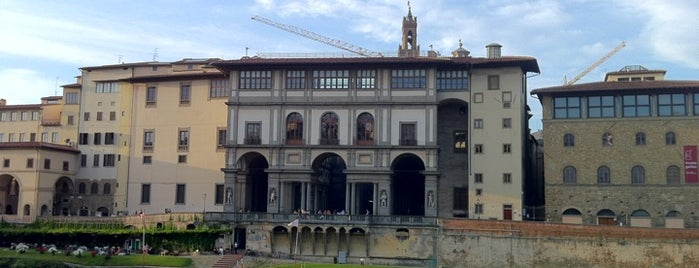 Galleria degli Uffizi is one of Florence Bars, Cafes, Food, POI.