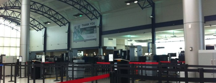 TSA Checkpoint is one of Cincinnati Airport.