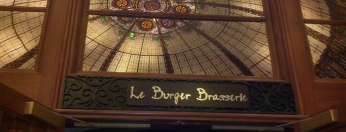 Le Burger Brasserie is one of All TIP.