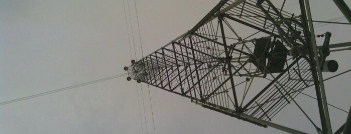 Moonlight Tower (11th & Lydia) is one of Austin's Moonlight Towers.