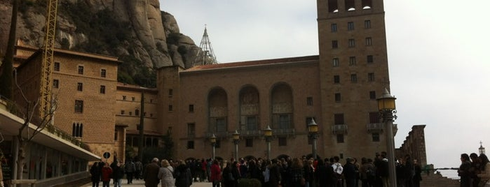 Monasterio de Montserrat is one of I love Barcelona!.