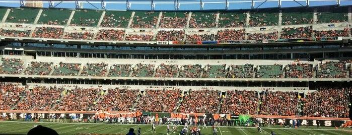 Paul Brown Stadium is one of Best Stadiums.