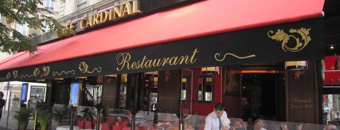Le Cardinal is one of  Paris Eat .