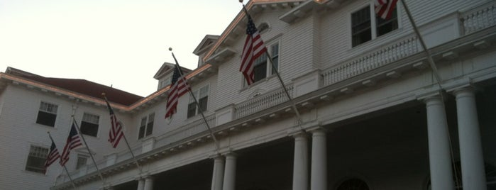 Stanley Hotel is one of Paranormal Traveler.