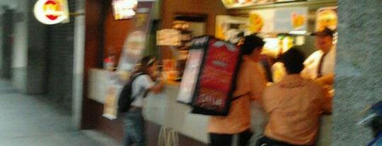 McDonald's is one of Comidas.