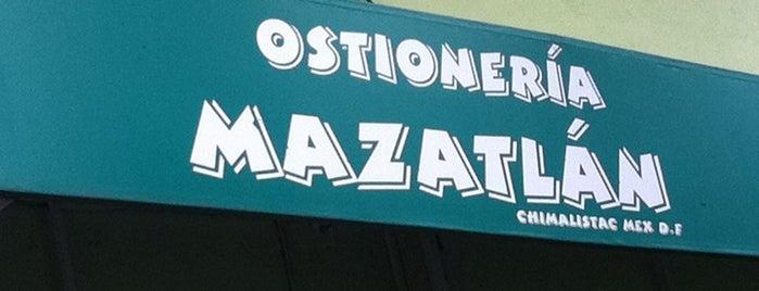Ostionería Mazatlán is one of ¡Cui Cui ha estado aquí!.