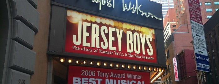 August Wilson Theatre is one of Ferias USA 2012.
