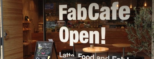 FabCafe is one of To drink Japan.