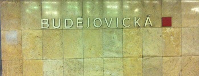 Metro =C= Budějovická is one of Metro C.