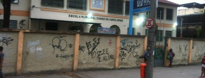 Escola Municipal Conde de Agrolongo is one of #Rio2013 | Catequese [Portuguese].