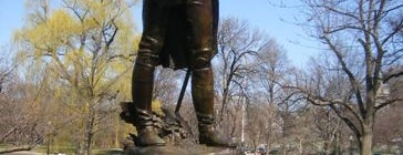 Tadeusz Kosciuszko Statue (Boston Public Garden) is one of IWalked Boston's Public Art (Self-guided Tour).
