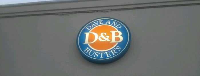 Dave & Buster's is one of been here.