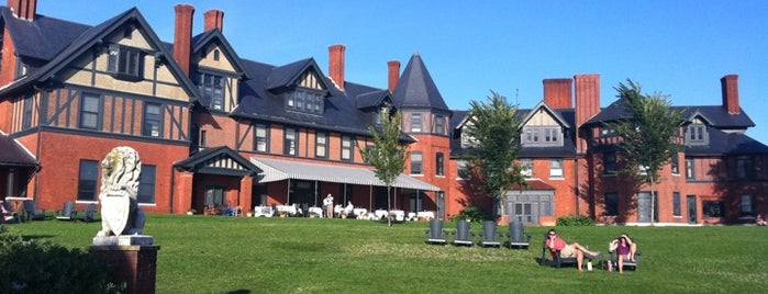 The Inn At Shelburne Farms is one of Historic Hotels to Visit.
