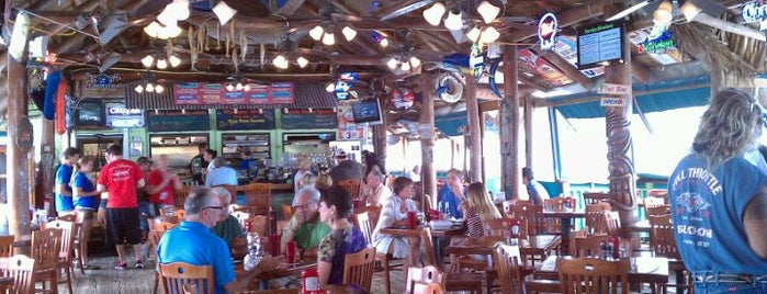 The Original Tiki Bar is one of Angie's GUIDE TO FORT PIERCE:.